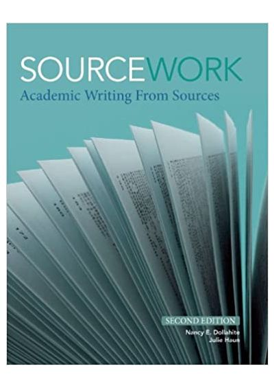 Sourcework academic writing from sources 2nd edition pay to get cheap creative writing